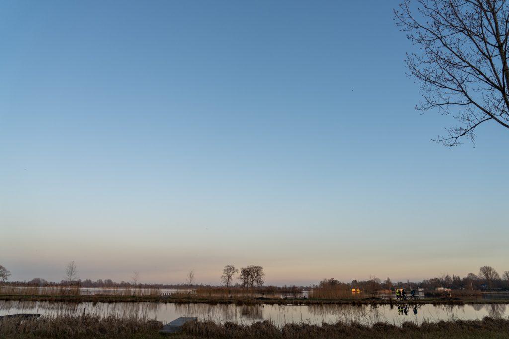 Laatste lootjes langs de Reeuwijkse plassen.